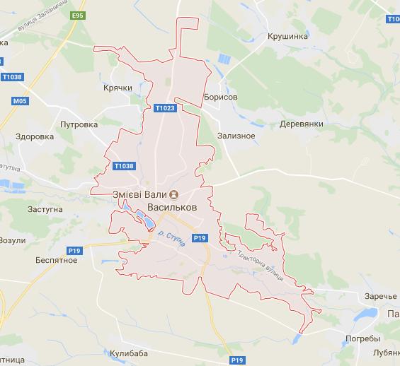 Грузоперевозки в Василькове