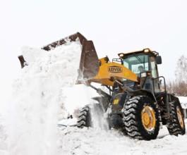 Услуги по очистке территории от снега