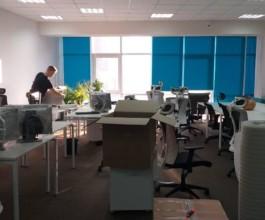 Офисный переезд на 40 рабочих мест