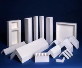 Упаковка с использованием уголков из полистирола