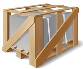 Применение деревянной обрешетки при перевозке нестандартных хрупких грузов