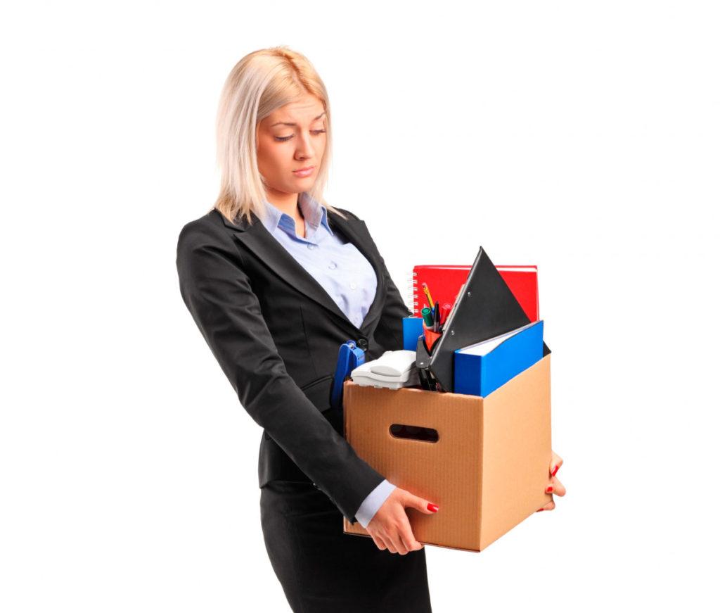 Упаковка личных вещей офисного персонала